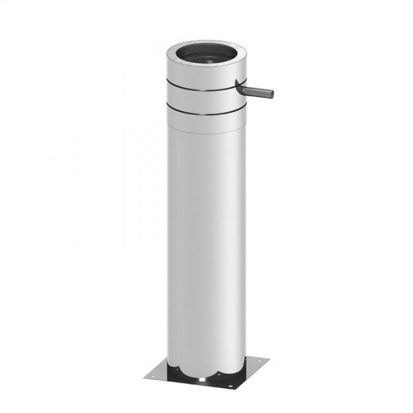 isoBIT Paket Bodenmontage, kürzbar 150 mit Ablauf seitlich#ZBaulänge 1.045mm