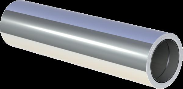 Futter-DW 150 gedämmt, kürzbar für isoBIT Ø150 Baulänge 500mm