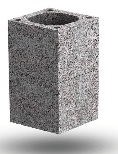 Objekt-Kamin Mantelstein 36/36/33-18