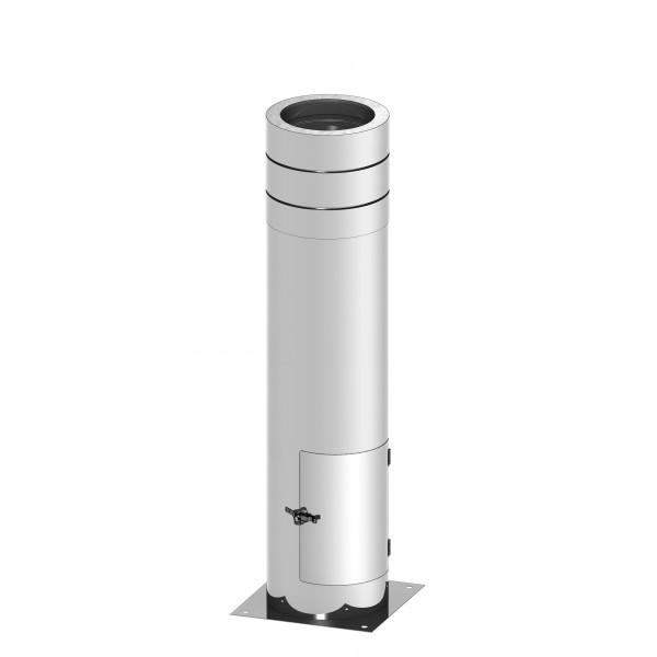 isoBIT Paket Bodenmontage, kürzbar mit Revision u. Kondensattopf 150#ZBaulänge 1.045mm